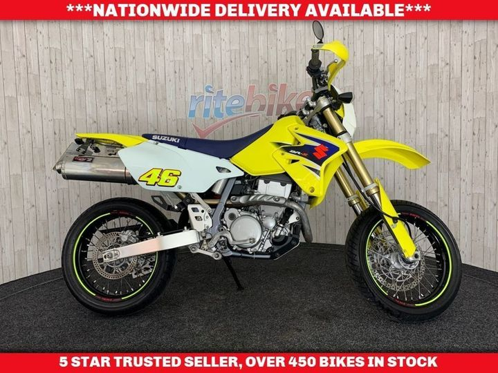 Suzuki DR-Z400 DRZ SM K7 GENUINE LOW MILEAGE 1 OWNER 2007 57 398cc image