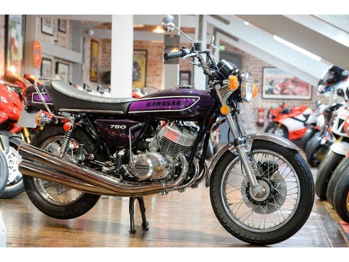 Kawasaki H2 750 Mach IV Restored Concours Example 750cc image