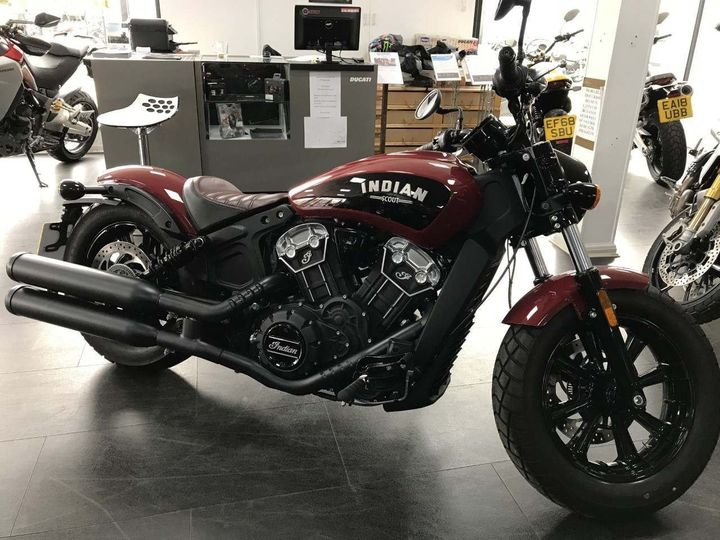 Indian Scout 1200 Bobber (Indian Motorcycle Red) 1133cc image