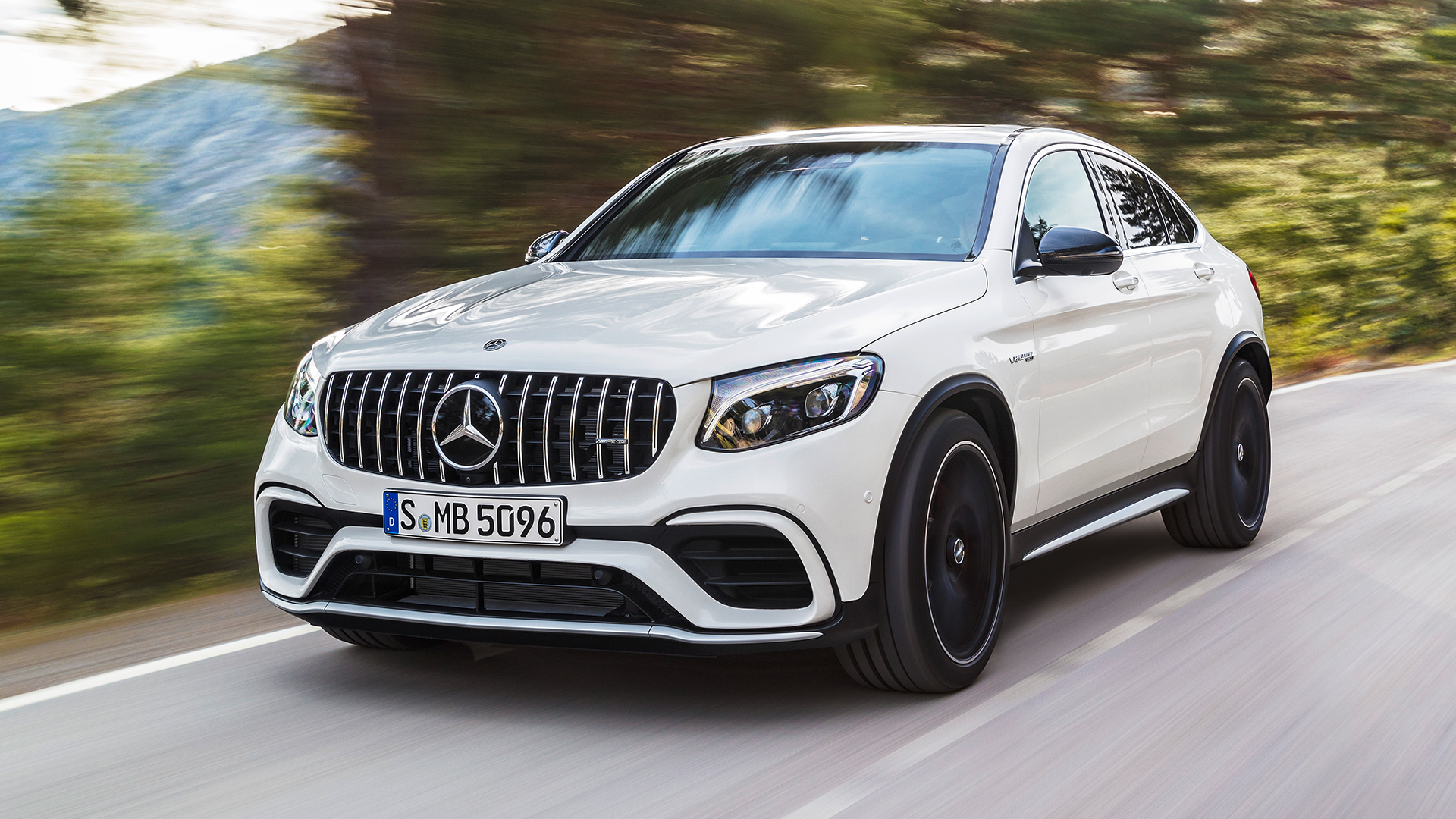 High Performance V8 Model To Top Mercedes Glc Suv Range