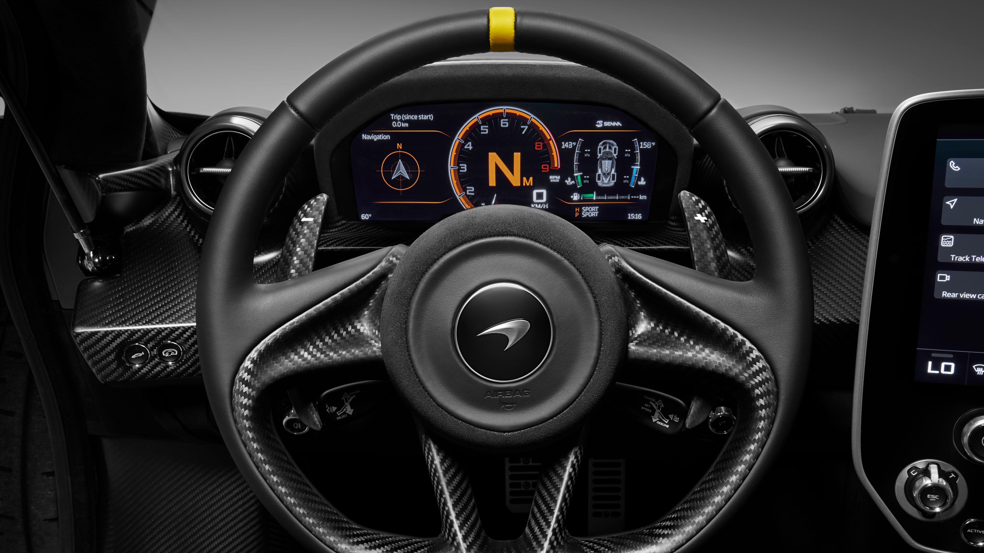 McLaren's special-edition Senna Carbon Theme hypercar for the Geneva