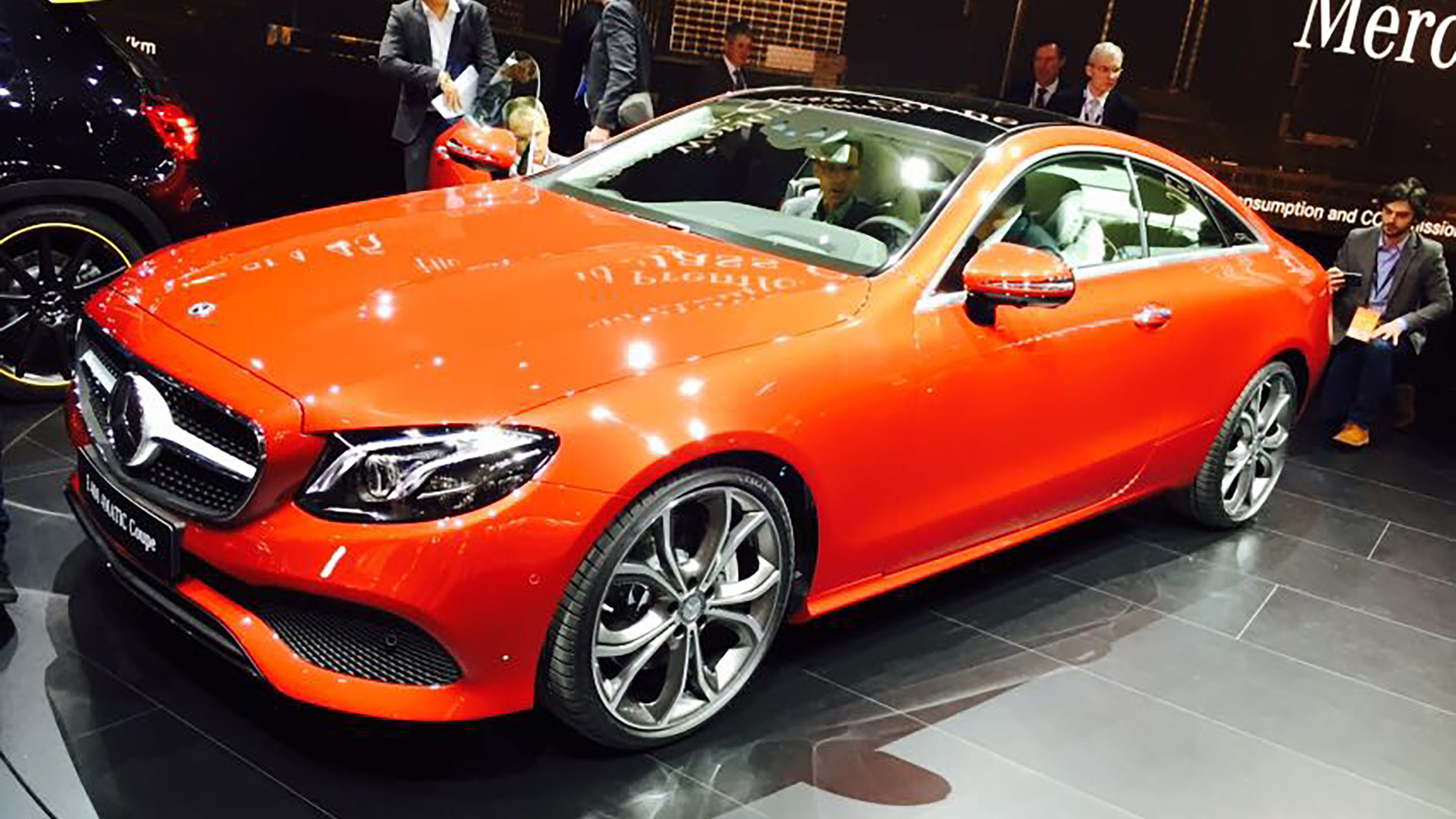 mercedes reveals new e class coupe auto trader uk