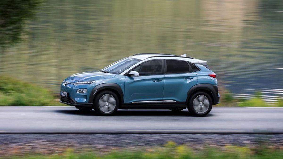 Hyundai Kona electric car
