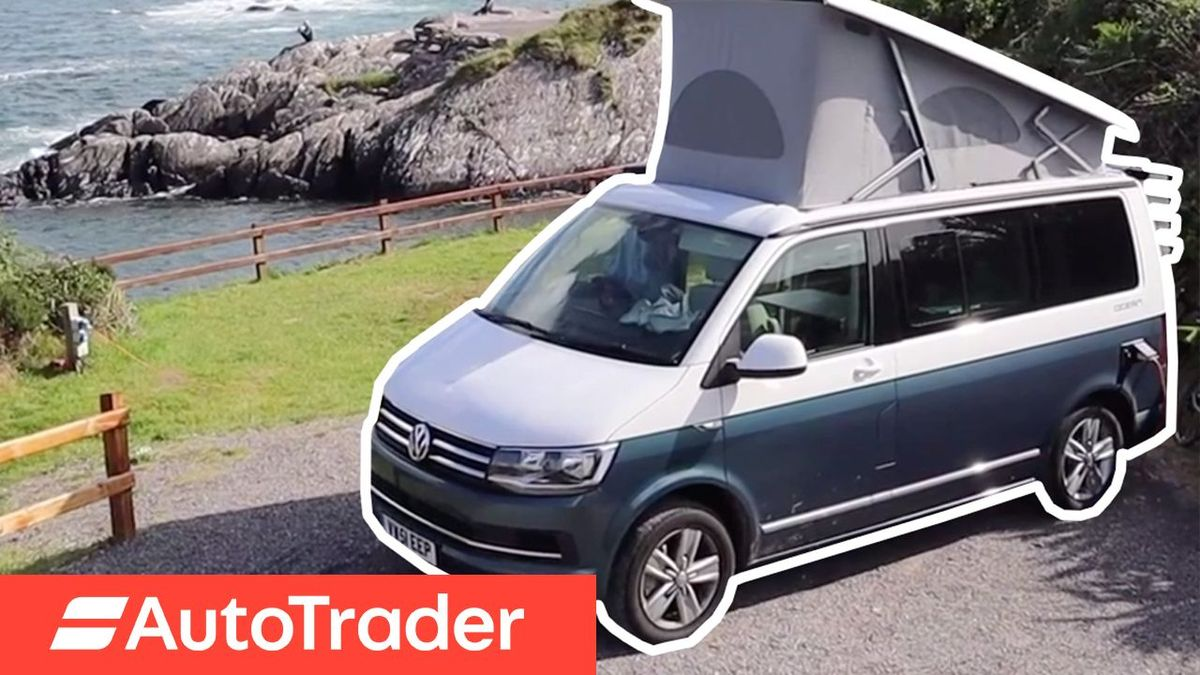 Crossing Ireland in a Volkswagen California