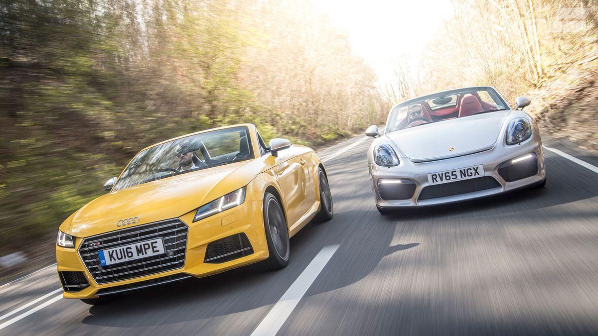 2015 Audi TT S Roadster vs Porsche Boxster