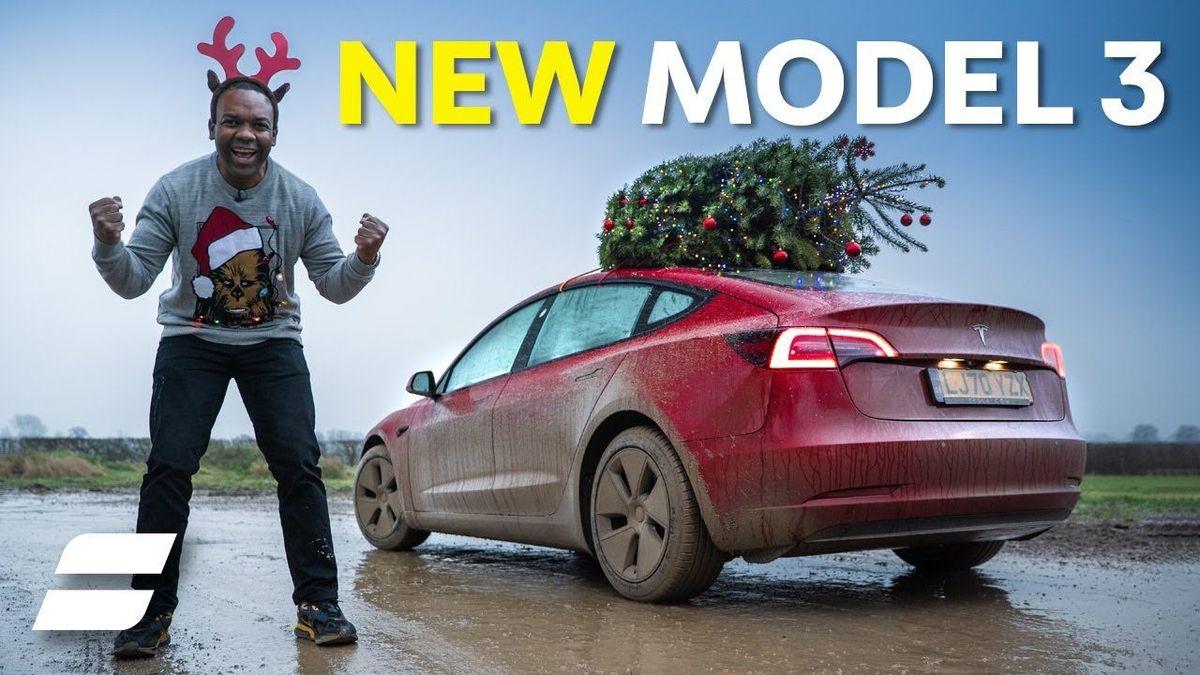 2021 Tesla Model 3 Standard Range Plus: Video Review ...
