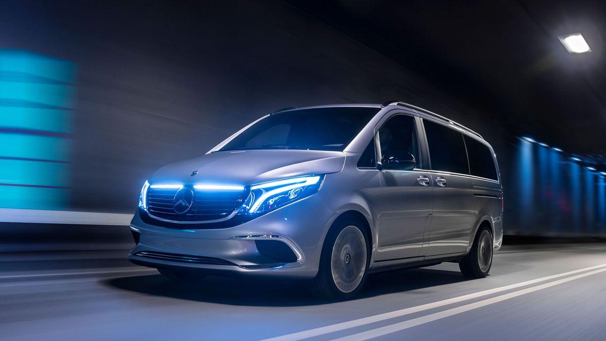 Coming soon: 2021 Mercedes-Benz EQV | Auto Trader UK