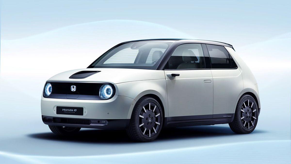 2019 Honda e Prototype production model