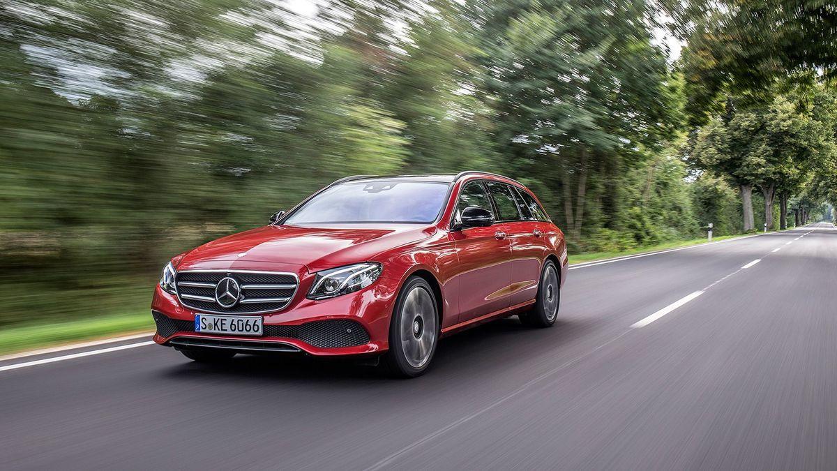 2016 Mercedes E-Class Estate dynamic