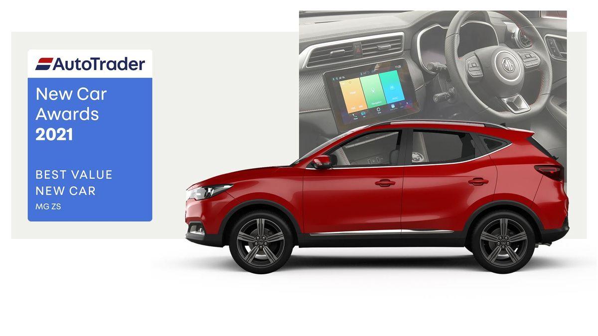 Best Value New Car Award 2021 – MG ZS