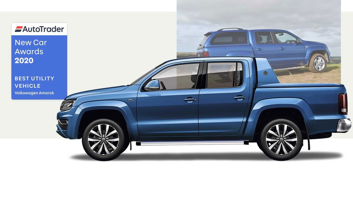 Volkswagen Amarok - winner of Best Utility Vehicle 2020