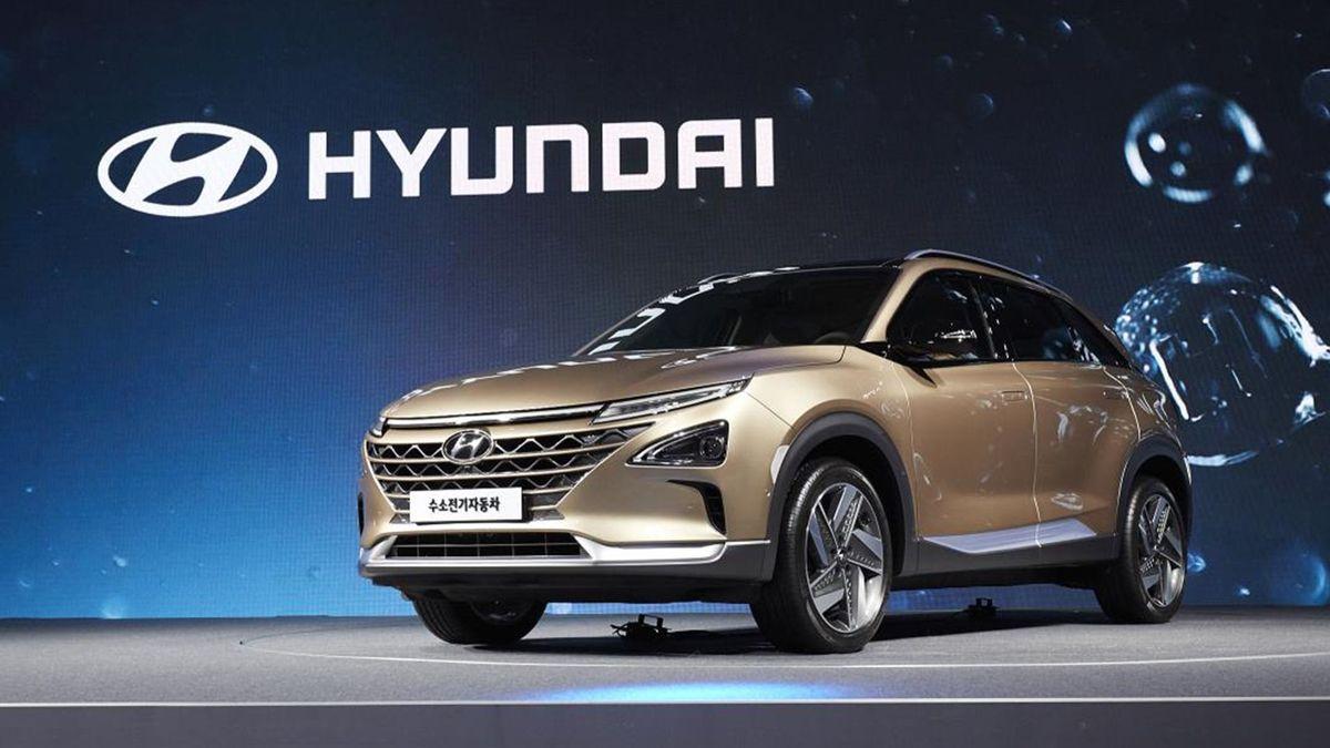 Hyundai Hydrogen SUV