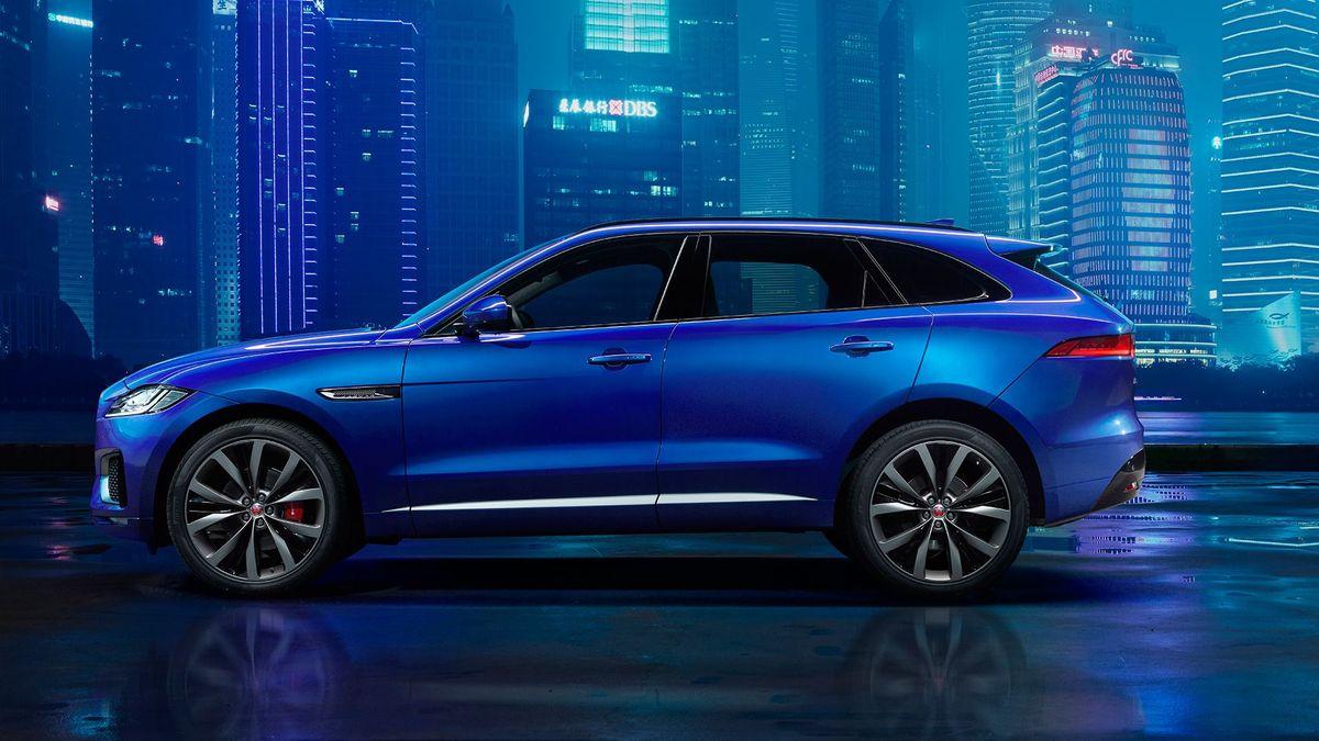 Jaguar F-Pace profile