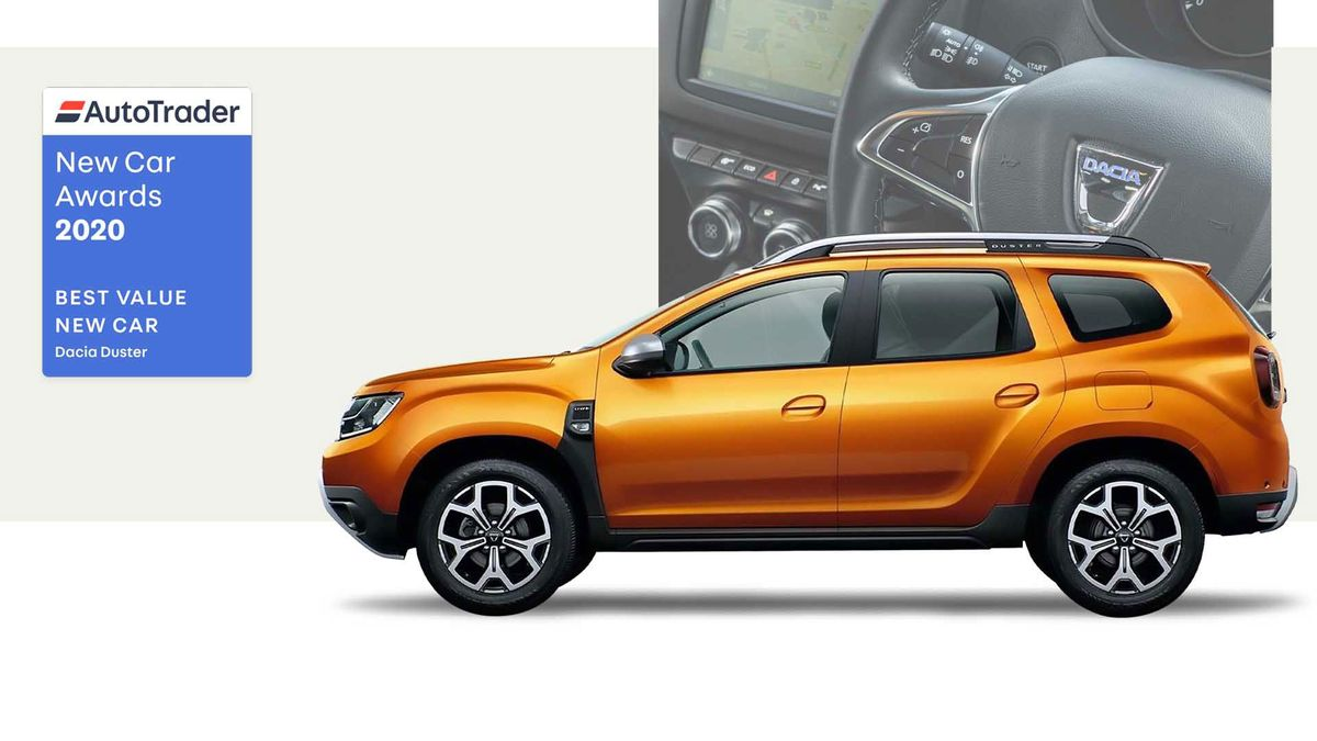 Dacia Duster, voted Best Value New Car 2020
