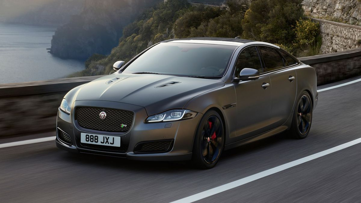 jaguar shows off revised xj luxury car