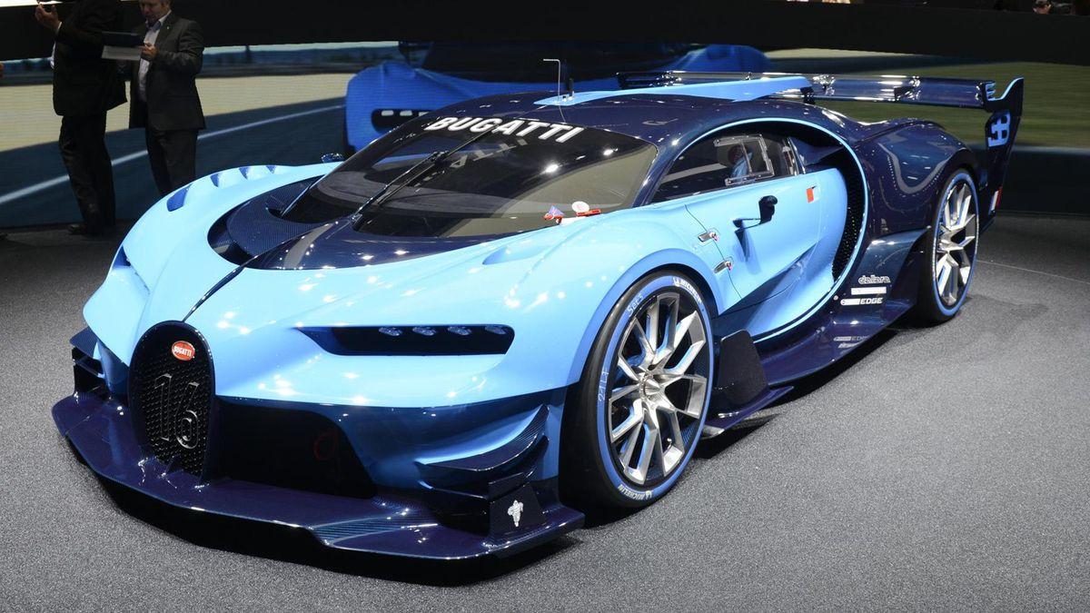 2015 Frankfurt Motor Show Bugatti