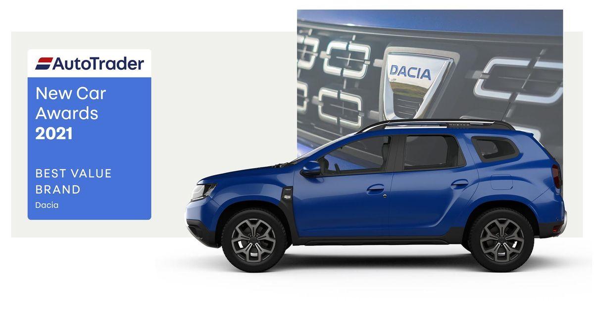 Best Value Brand Award 2021 - Dacia