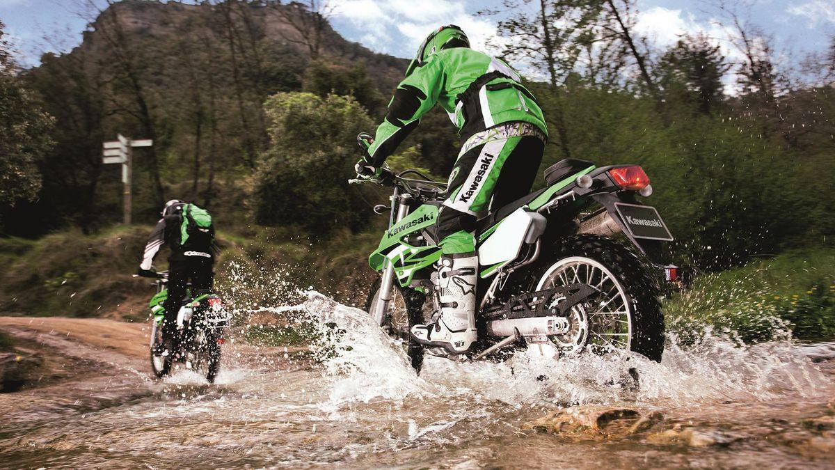 Kawasaki KLX250 enduro
