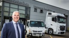 Andrew Jamieson Managing Director of Mercedes-Benz Dealer Intercounty Truck & Van