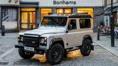 Land Rover Defender sells for £400k