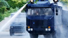 Museum of London Seizes Chance To Display Boris Johnson's Water-Cannon Trucks