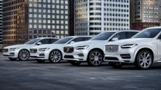Volvo electric and hybrid cars