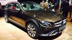 Mercedes E-Class All Terrain Paris Motor Show 2016