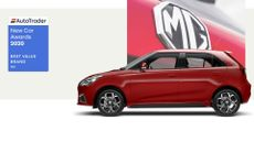 MG - voted Best Value Brand 2020 in Auto Trader's New Car Awards