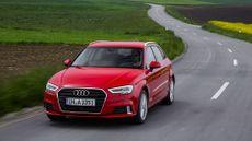 2016 Audi A3 Sportback 1.0 TFSI cornering