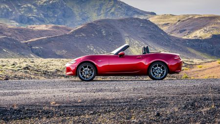 Mazda MX-5 convertible car