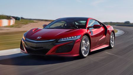 First Drive of the new Honda NSX