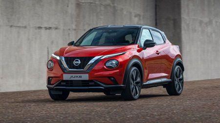 New Nissan Juke side view