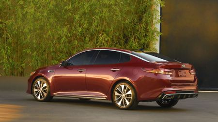 2016 Kia Optima rear static shot
