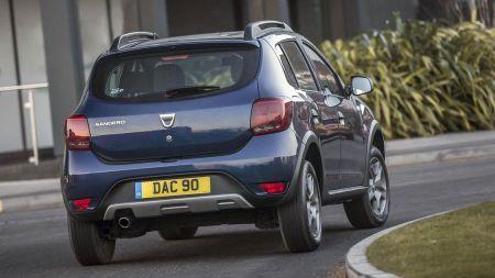 Dacia Sandero Stepway SUV rear