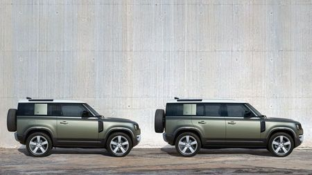 New Land Rover Defender 110 and New Land Rover Defender 90