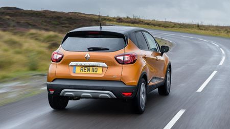 Renault Captur SUV rear