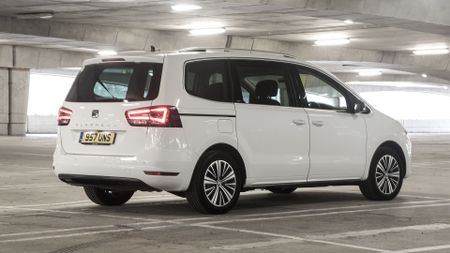 Best family cars include  Seat Alhambra (rearview)