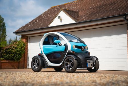 Win a car: Renault Twizy