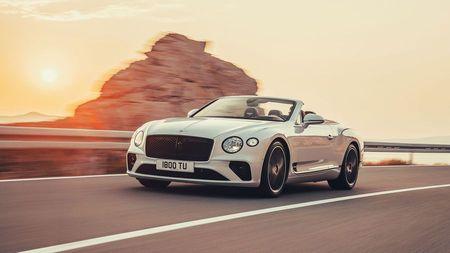 Cream Bentley Continental