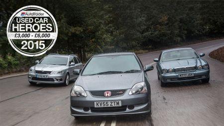 Used Car Heroes: £3000 - £6000