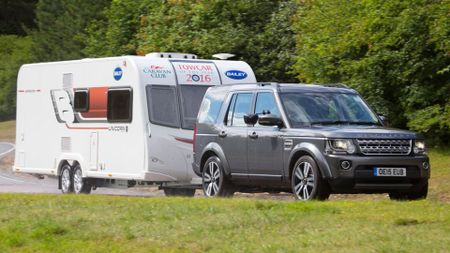 Best towcar - Land Rover Discovery