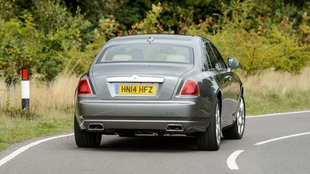 Rolls Royce Ghost rear