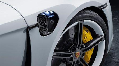 Porsche Taycan charger