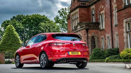 Renault Megane RS rear