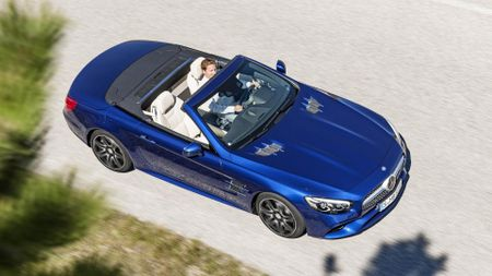 Mercedes-Benz SL convertible car