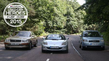 Used Car Heroes: £1000 - £3000