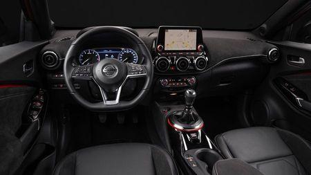 New Nissan Juke dash