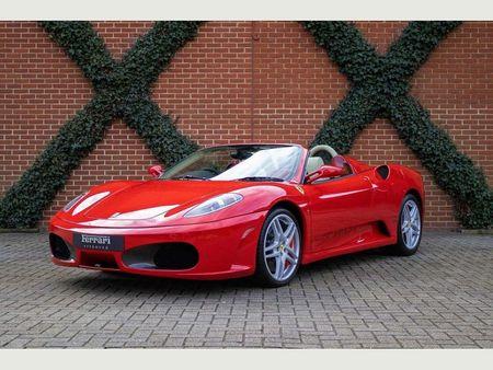 Red Ferrari F430 convertible