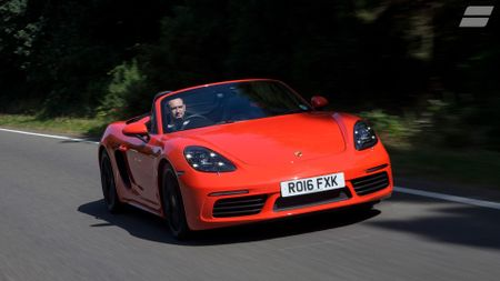 Best fun cars - Porsche 718 Boxster