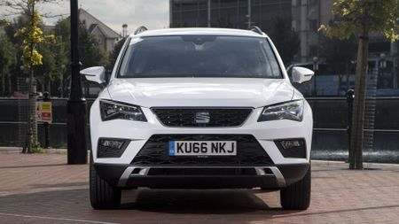2017 Seat Ateca front